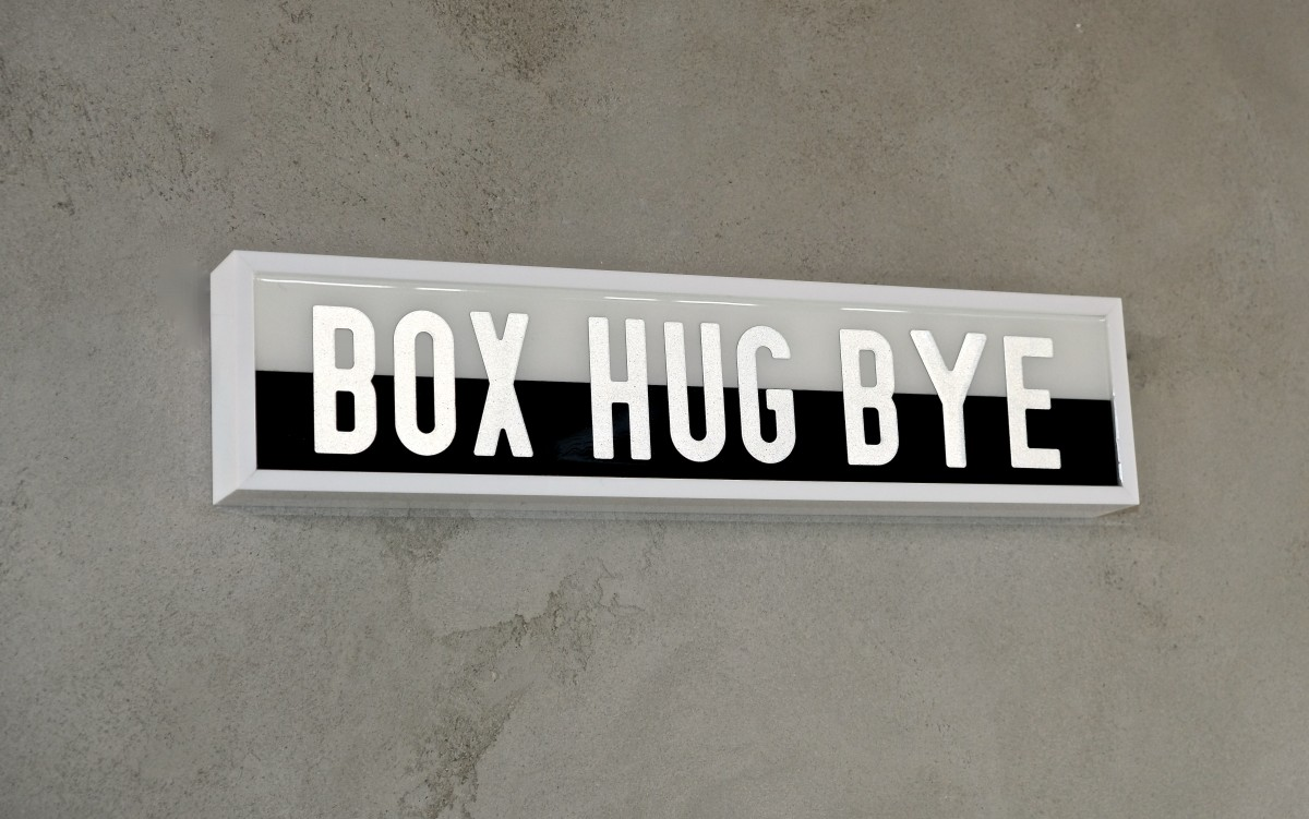 ASK YOURSELF - WHO ELSE - BOX HUG BYE